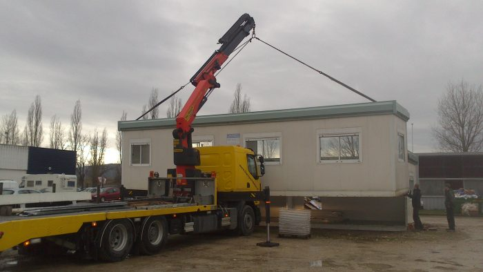 Transfert bungalow 3m x 12m