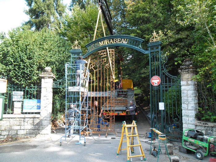 Mise en place d'un portail